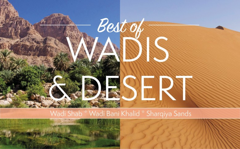 Best of Wadis and desert